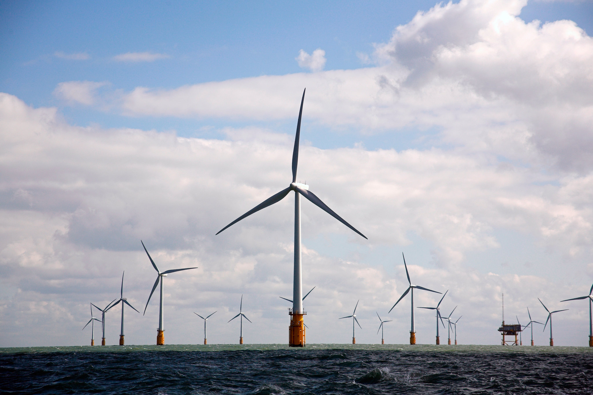 Offshore Wind Farm. Vattenfall, Creative Commons